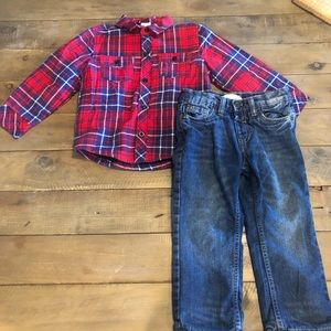 Toughskins boys outfit